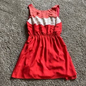 Hot & Delicious Anthropologie   Mini Ruffled Dress